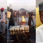 Angry Kaduna Residents Wash Streets With Soap Shortly After Governor El-Rufai's Visit (PHOTOS)