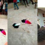 Man caught stealing panties and bras in Anambra State (photos)
