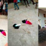 Man caught stealing panties and bras in Anambra State (photos)