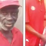 Old Man Apprehended After Allegedly Stealing Bras And Panties In Lagos. (Photos & Video)