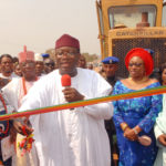 Fayemi flags off construction of 41-year old abandoned Ado-Iyin road