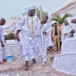 See The Viral Photos Of Ooni Of Ife Participating In The Oshoosi Festival (Photos)
