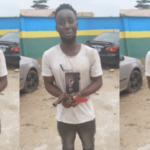 Young Man Caught While Attempting To Rob A Businessman In Lagos (PHOTOS)