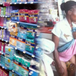 Woman Caught After Hiding Stolen Item In Between Her Legs In A Shop (PHOTOS)