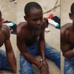I Came To Steal Money But A Spirit Entered Me – Pant Thief Says (PHOTOS & VIDEO)