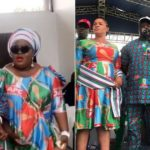 Eniola Badmus Spotted Campaigning For Oluremi Tinubu During APC Mega Rally (Photos)