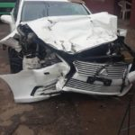Nigerian Man Battling For His Life After Ghastly Motor Accident (Photos)