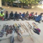 Soldiers Arrest Armed Thugs During Operation, Politicians Order For Their Release. Photos