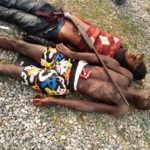 Gunmen Shot Dead After Policeman Pretended To Be A Robber (Graphic Photos)