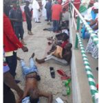 Pictures Of Supporters Who Collapsed During Atiku's Campaign In Kano