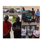 EFCC arrests 10 suspected internet fraudsters in Abuja (PHOTOS)