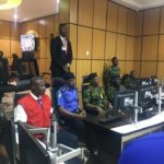 Army, Navy, Police, EFCC Bosses Pictured Together In Situation Room Ahead Of Elections