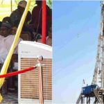 Watch As President Buhari Flags Off Oil Drilling In Gombe State (photos & video)