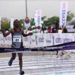 Ethiopian athlete, Sintayehu Legese wins 2019 Lagos City Marathon (PHOTOS)