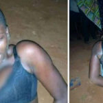 Female Thief Nabbed During Operation After Being Abandoned By Partner (Photos)