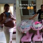 How Nigerian lady delivered 6 babies in 3 years of marriage (PHOTOS)