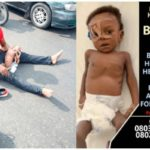 Father With Sick Child Denies Absconding With Over N70million For His Sick Child (Video)