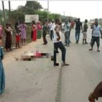 Panic In Umuahia As Drunk Army Officer Crush 6 To Death (GRAPHIC PHOTOS)