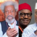 Soyinka: Buhari, Atiku not options for presidency in 2019
