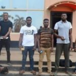 EFCC Arrests 8 Yahoo Boys In Ibadan