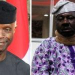 Osinbajo Donates N1million For The Treatment Of Baba Suwe's Ailment