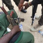 Battle Ready Policemen Seen Preparing Their Rifles Ahead Of Elections In Rivers (Photos)