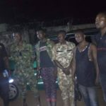 Fake Soldiers Busted By Vigilante Members Ahead Of Elections In Enugu (Photos)