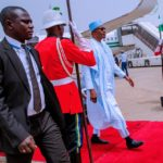 President Buhari Departs Daura, Arrives Abuja After Postponement Of Elections