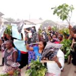 Angry Women Protest In Akwa Ibom Over Importation Of Thugs By Politicians (Photos)