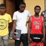 Suspected Yahoo Boys Apprehended By EFCC In Lagos