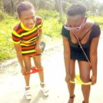 Ladies Pull Down Their Panties In Public To Mock Yahoo Boys And Ritualists