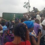 Pregnant Woman Chokes, Another Coughs Up Blood As Police Tear-gas Lagosians Seeking PVCs (Photos)