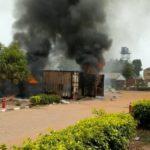 Nigeria Decides: Fire Burns INEC Office In Osun