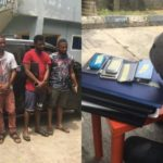 Laptops, Car Recovered As Five Yahoo Boys Are Arrested In Port-Harcourt (Photos)