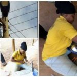 Photos of dedicated female electrician goes viral on social media