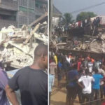 'I'm Alive, Trapped Underground', Man Calls Family After 3-Storey Buildings Collapsed In Aba (Photos)