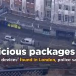 Three 'explosive devices' found in London (photos)