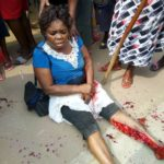Boy Crushed To Death, Woman Injured After Fatal Accident In Uyo (Graphic Photos)