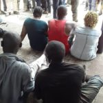 Anambra Police Parade 3 Suspects Over Humiliation Of Woman In Viral Nude Video (video & photos)
