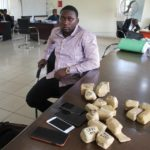 EFCC Apprehends Man, Mannir Hamza Ahmed With 19 Wraps Of Raw Gold In Lagos