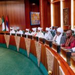 PRESIDENT BUHARI URGES TRADITIONAL RULERS TO SUPPORT FIGHT AGAINST CRIMINALITY (photos)