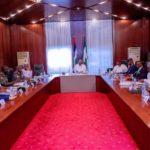 Buhari meets Service chiefs behind closed doors