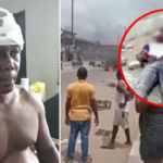 Suspected Thug Demola Beaten During Elections In Lagos, To Be Prosecuted