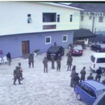 CCTV Videos Show The Moment Soldiers Invaded Commissioner's House In Rivers (photos & video)