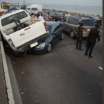 Photos Of Multiple Accident On Third Mainland Bridge In Lagos