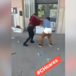 Nigerian Sex Workers Fight Each Other Publicly Over Customers In Italy (Photos)