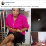 Nigerian Man Allegedly Murders His Wife In Their Home Abroad (Graphic Photos)
