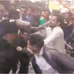 Nigerian Man Beaten Mercilessly By Crowd In India After Assaulting 2 Cops (Photos)