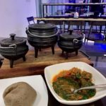 Nigerians React To Photo Of Amala And Ewedu That Costs N6500 Per Plate