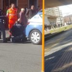 Italian police officers prevent another Nigerian man from committing suicide at Genova train station